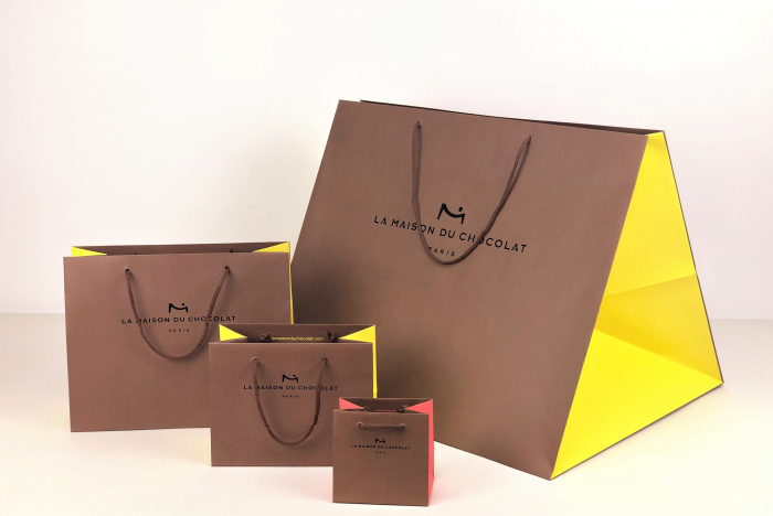 Sac luxe grand format chocolatiers pâtissiers